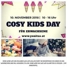 """YONITAS """"Cosy Kids Day"""" für Erwachsene"""